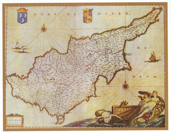 Kontoyiannis Cyprus Map